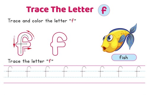 lowercase_letter_f_tracing_worksheets