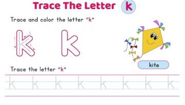 lowercase_letter_k_tracing_worksheets