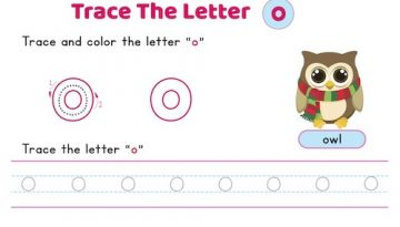 lowercase_letter_o_tracing_worksheets