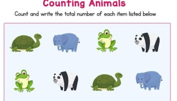 count_the_number_of_forest_animals_pre_kindergarten_worksheets.