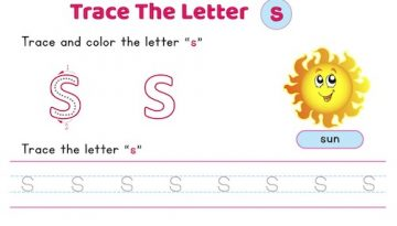 lowercase_letter_s_tracing_worksheets