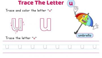 lowercase_letter_u_tracing_worksheets