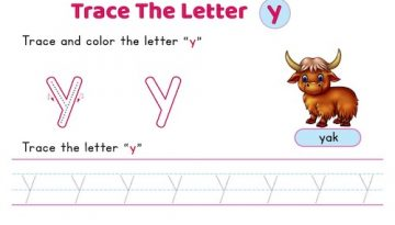 lowercase_letter_y_tracing_worksheets