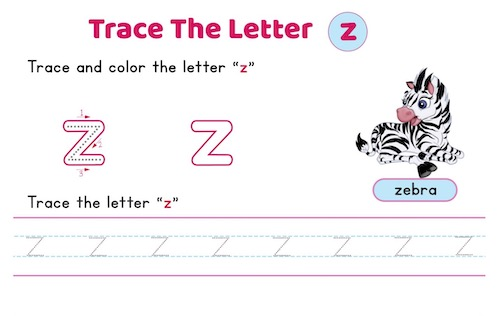 lowercase_letter_z_tracing_worksheets
