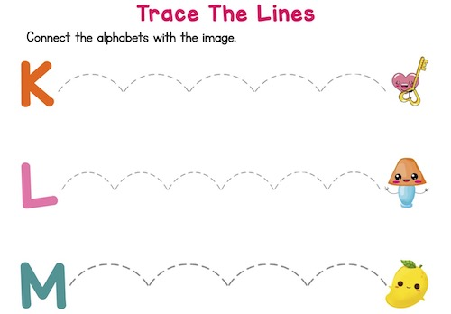 trace_the_dotted_lines_prekindergarten_worksheets_K_to_O