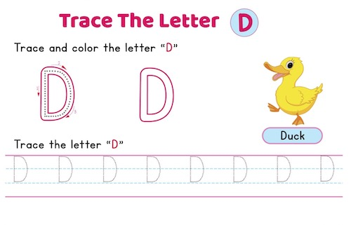 uppercase_letter_D_tracing_worksheets