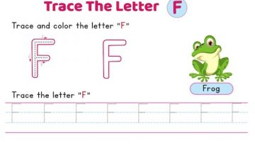uppercase_letter_F_tracing_worksheets