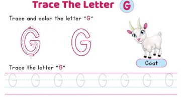 uppercase_letter_G_tracing_worksheets