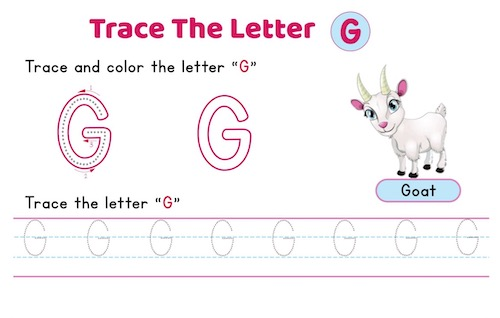 uppercase_letter_G_tracing_worksheets