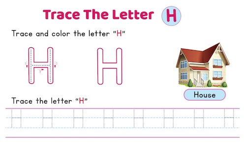 uppercase_letter_H_tracing_worksheets