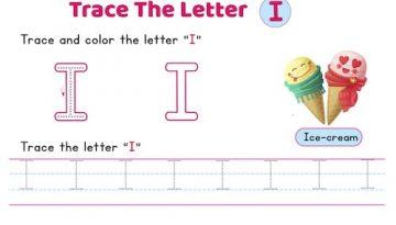 uppercase_letter_I_tracing_worksheets
