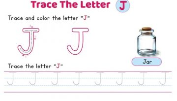 uppercase_letter_J_tracing_worksheets