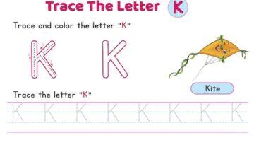 uppercase_letter_K_tracing_worksheets