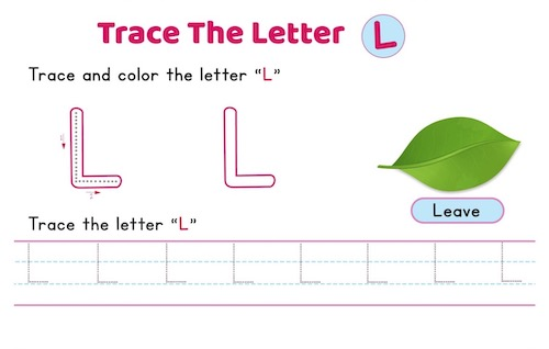 uppercase_letter_L_tracing_worksheets
