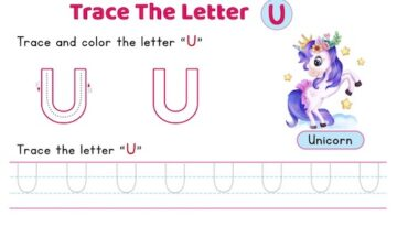 uppercase_letter_U_tracing_worksheets