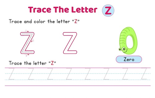 uppercase_letter_Z_tracing_worksheets