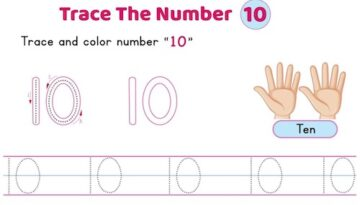 number_10_tracing_worksheets