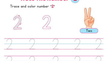 number_2_tracing_worksheets