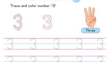 number_3_tracing_worksheets